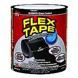 """Flex Tape Black 4"""" x 5'"""