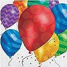 Balloon Blast Napkins, 48 ct