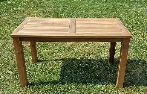 Good Wuchtiger TEAK BIGFOOT Gartentisch 140x80 Holztisch Teaktisch Garten Tisch  Holz Von AS S Photo