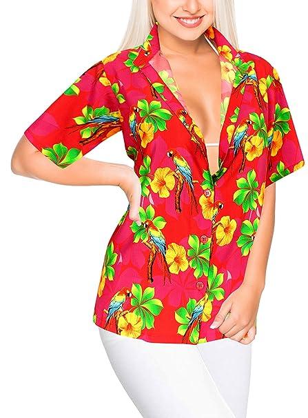 Donna Camicia Hawaiana Amazon Hawaiana Camicia Donna 1FK3JTcul