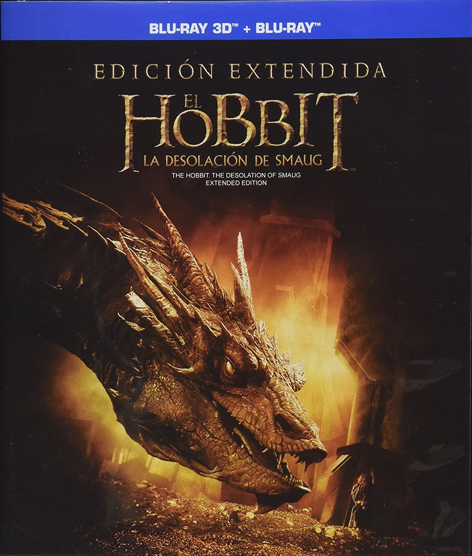 El Hobbit La Desolacion De Smaug Edicion Extendida Blu Ray 3d Blu Ray Copia Digital Movies Tv