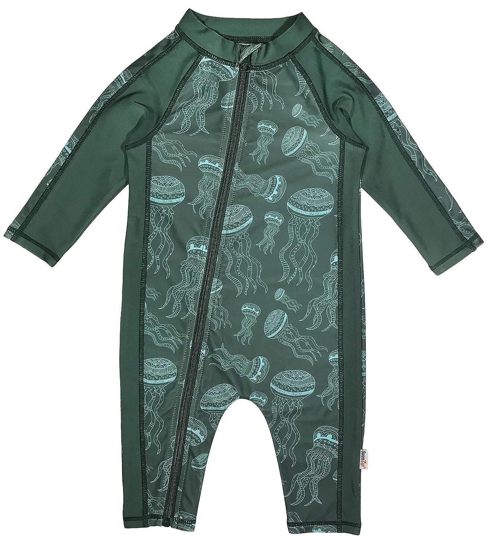 SwimZip Little Boy Long Sleeve Sunsuit with UPF 50 Sun Protection SZBOYSUNSUIT001