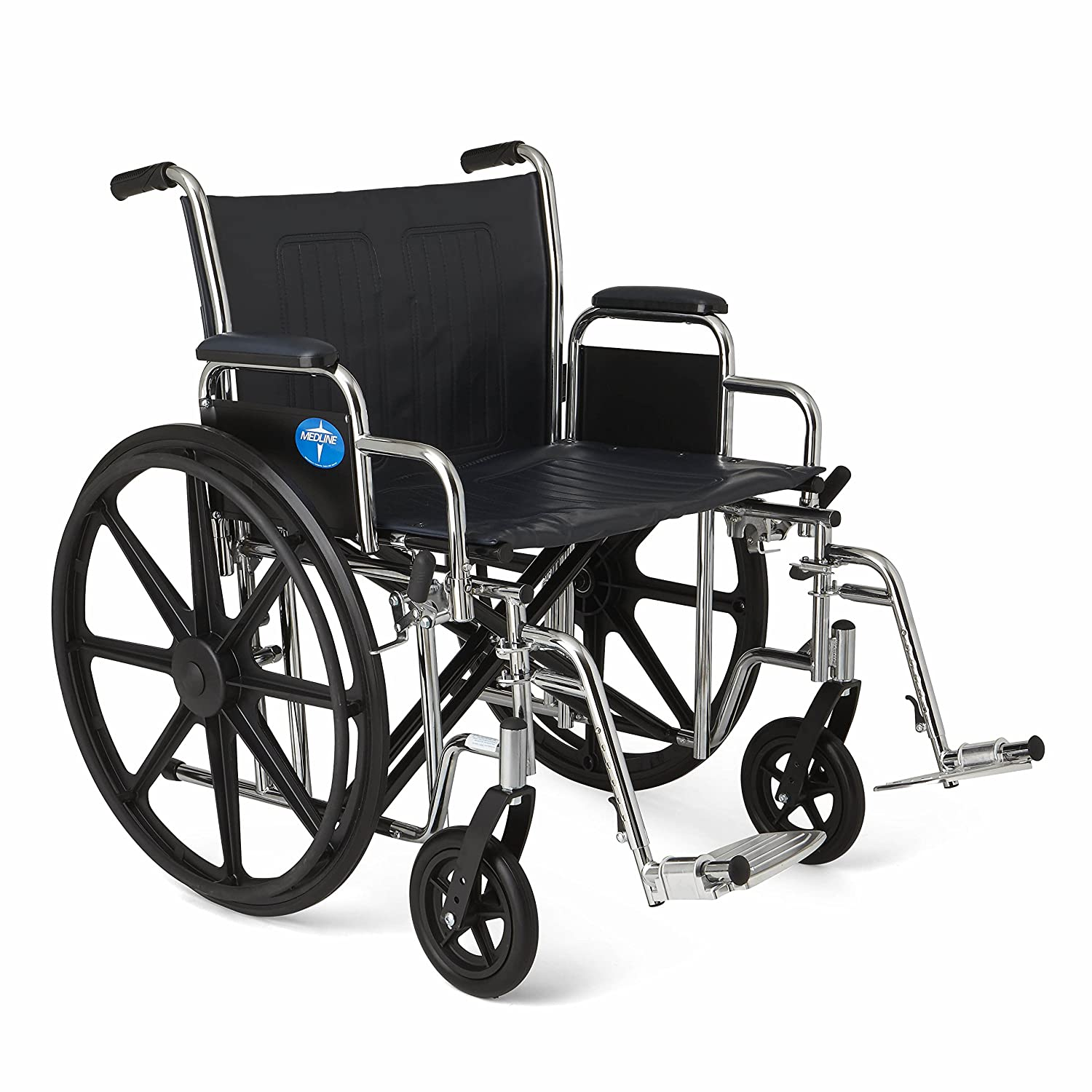 Amazon.com: Medline Excel Extra-Wide Wheelchair, 22