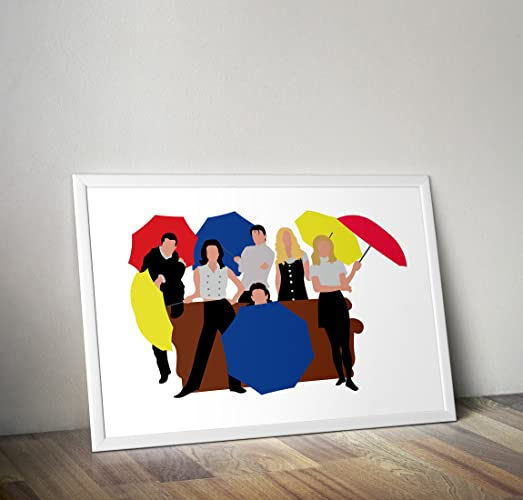 Friends TV Show Poster - Friends TV show inspired print - I\'ll be ...
