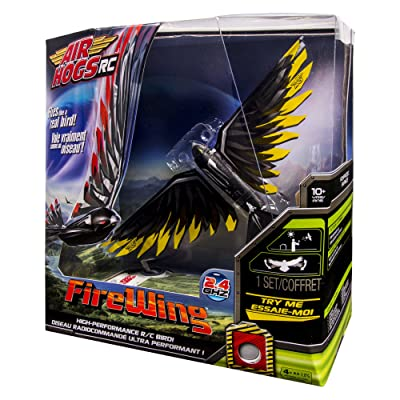 Air Hogs RC FireWing - Yellow R/C Flying Bird: Toys & Games