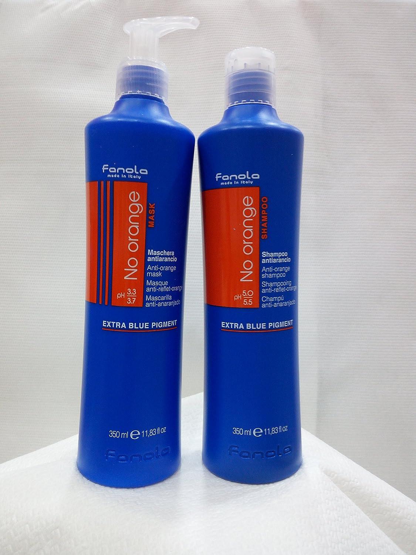 Kit No Orange Maske 350ml + Shampoo 350ml FANOLA
