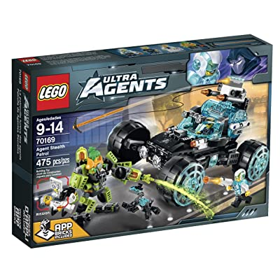 LEGO Ultra Agents Agent Stealth Patrol Toy: Toys & Games