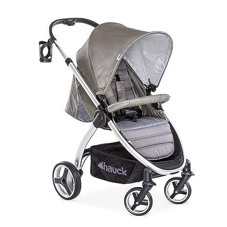 Hauck Lift Up 4 - Silla de paseo con asiento amplio, ligera, chasis aluminio