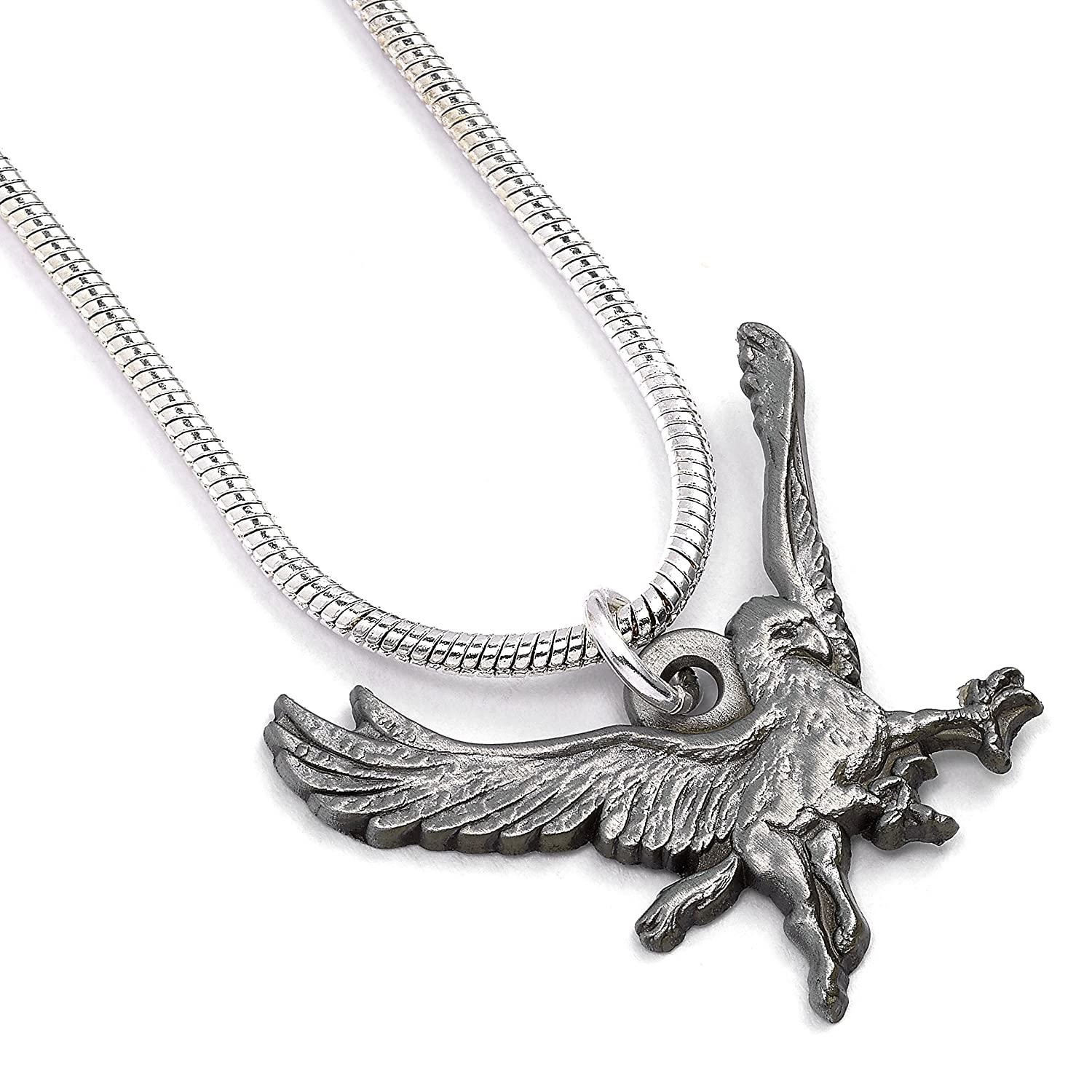 Amazon Officially Licensed Harry Potter Silver Plated Buckbeak