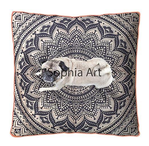 Sophia Art - Funda para cojín de meditación, tamaño Grande ...