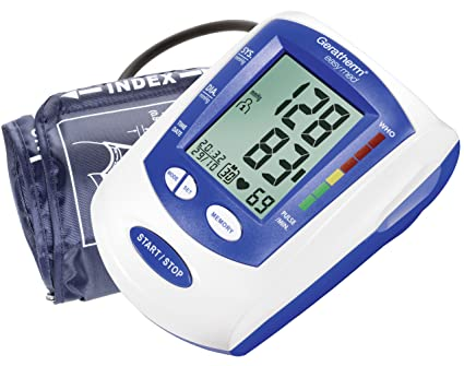 Amazon.com: Geratherm Easy Med, Compact Upper Arm Blood Pressure Monitor by PISPO Ltd.: Health & Personal Care