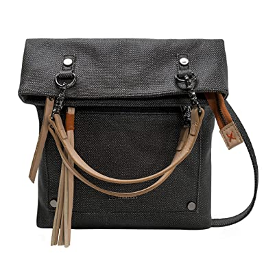 75039483f Amazon.com: Sherpani Rebel Crossbody Tote, Blackstone: Sherpani ...