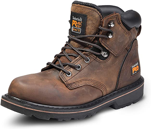 """timberland pro men's 6"""" pit boss soft toe"""
