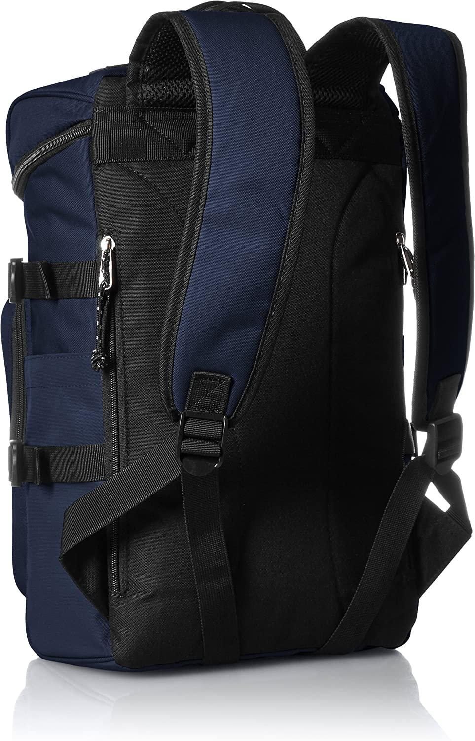 Navy PSEG Luc Erie pack nylon Square rucksack daypack REP-30108 NV