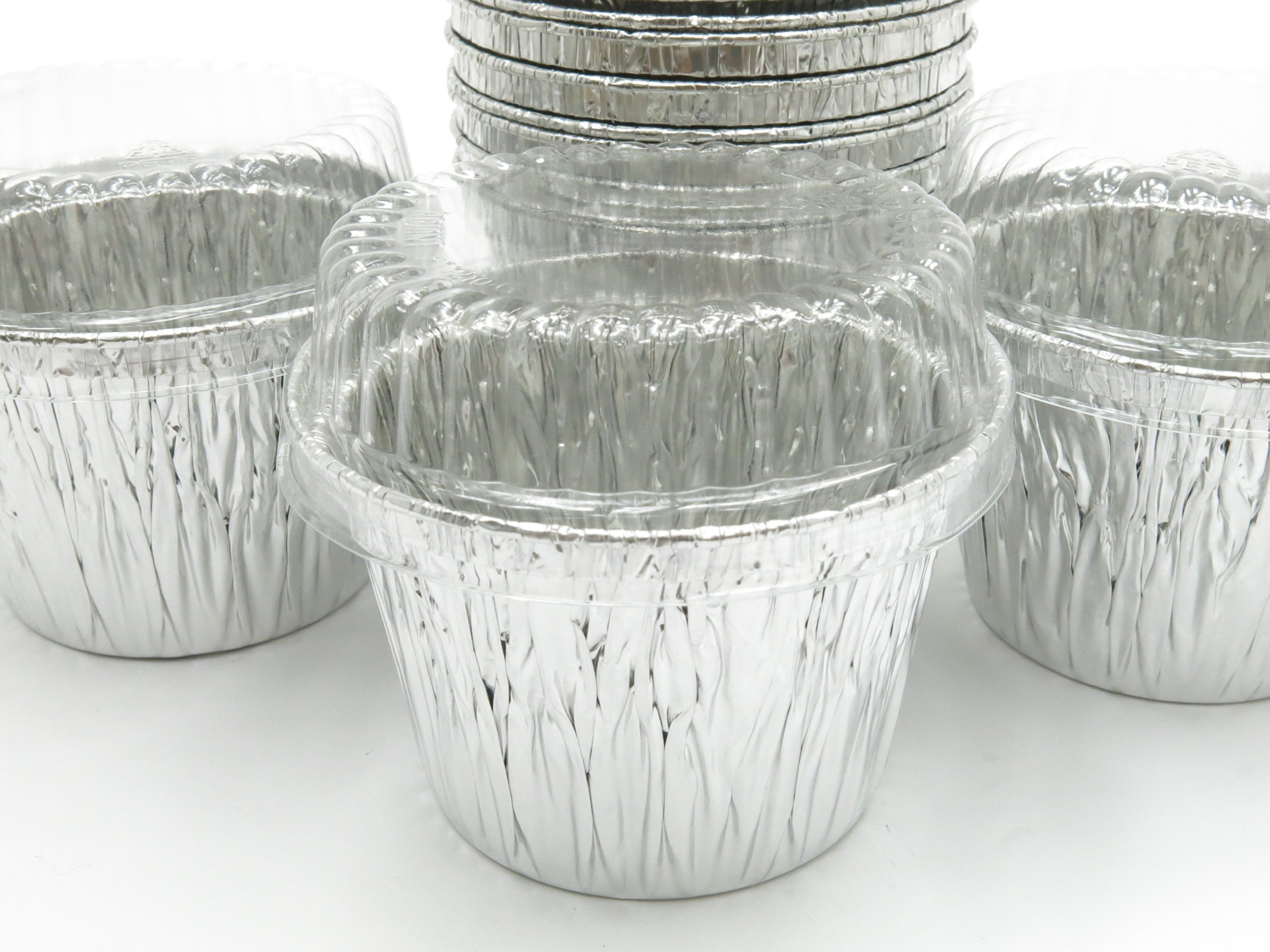 Disposable Aluminum 7 oz. Baking Cups/Cake Cups/Dessert Cups #1210P (500)
