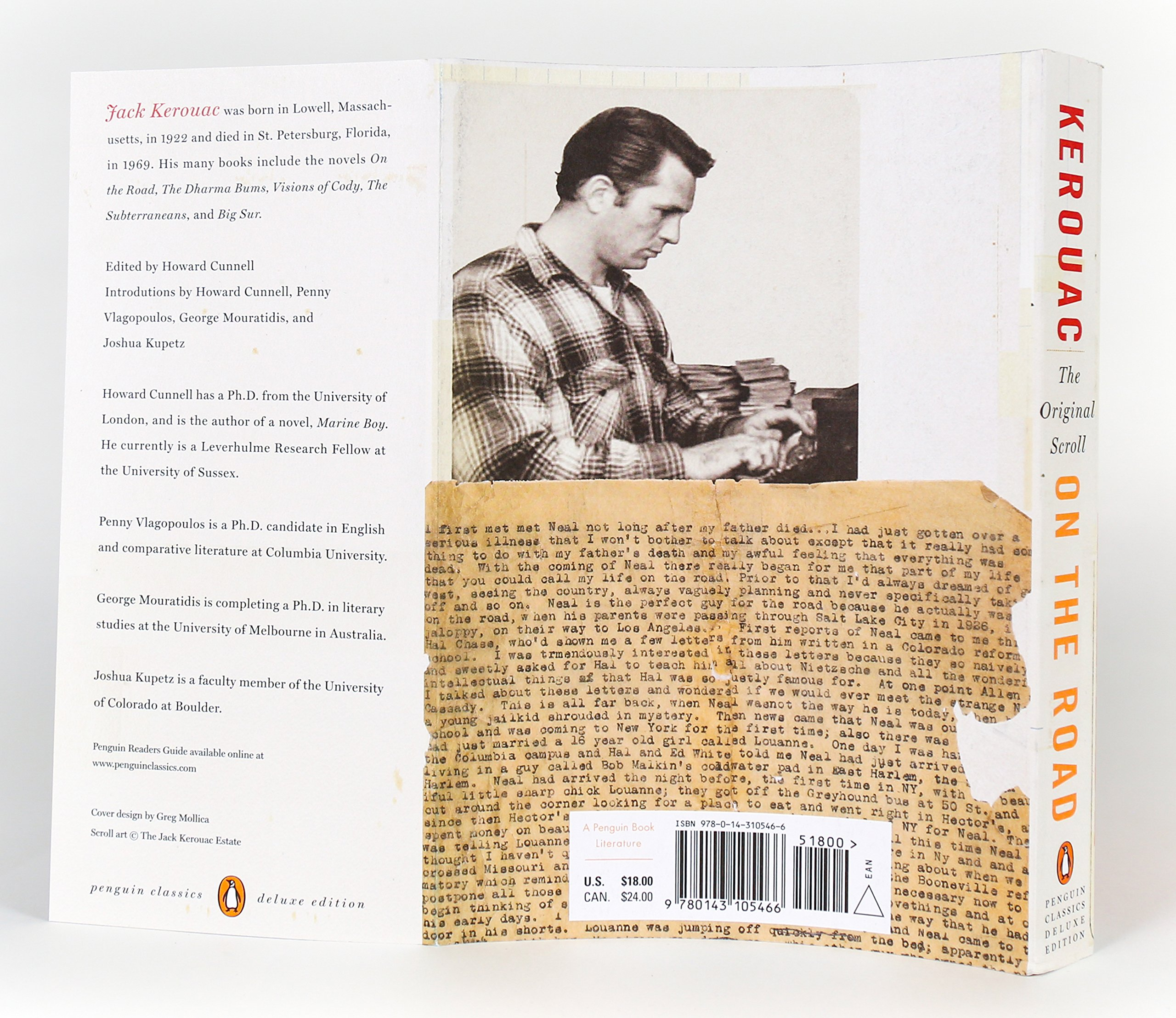 On the Road: the Original Scroll: Penguin Classics Deluxe Edition ...