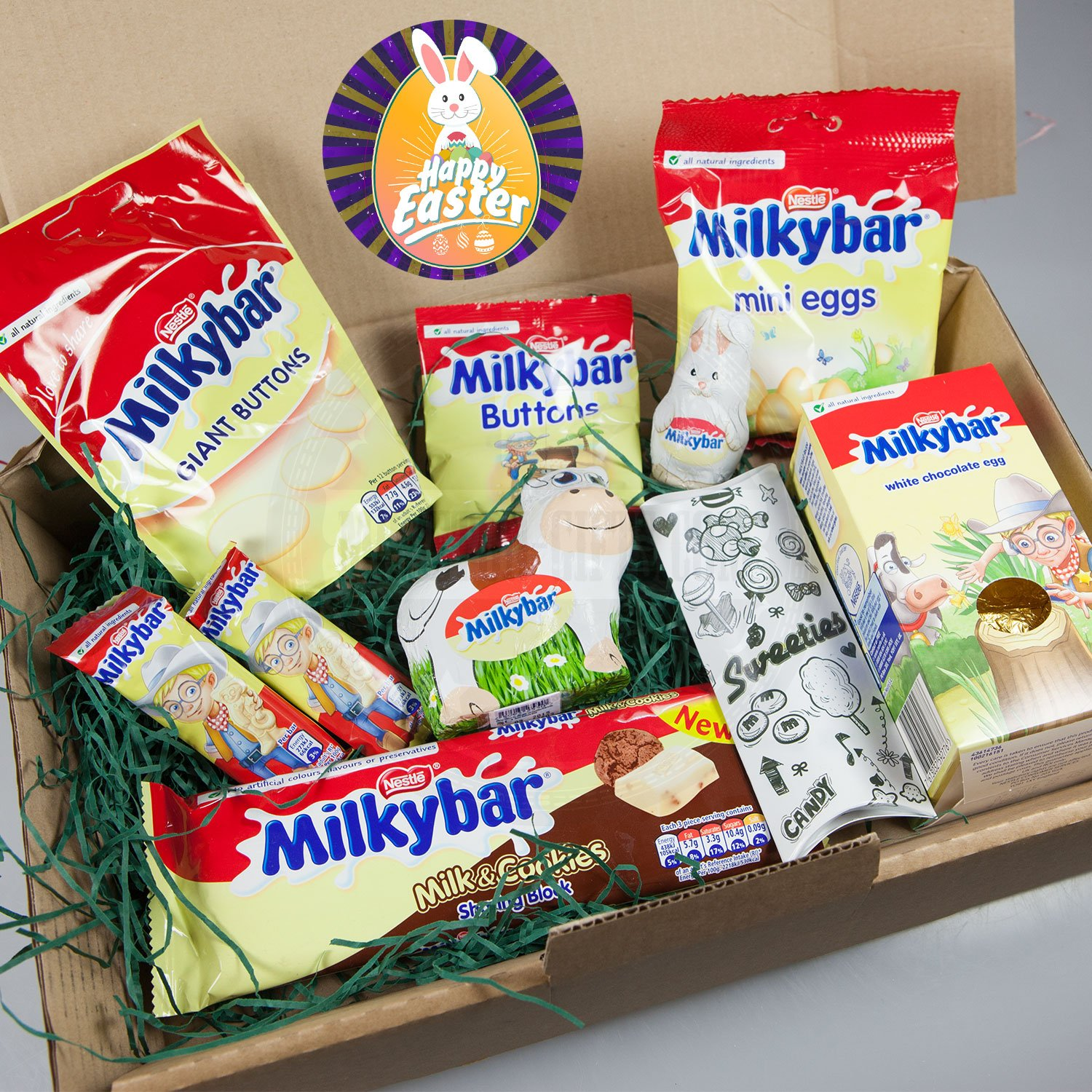 Milkybar ultimate easter gift box cow easter egg bars giant milkybar ultimate easter gift box cow easter egg bars giant buttons mini eggs milk cookies bar bunny by moreton gifts amazon grocery negle