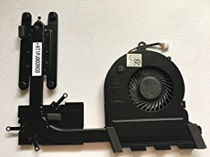 SYWpcparts Replacement Fan for Dell Inspiron 5565 5567 5767 Series CPU Fan with Heatsink DP/N CN-0789DY 0789DY 789DY AT1PJ002FF0