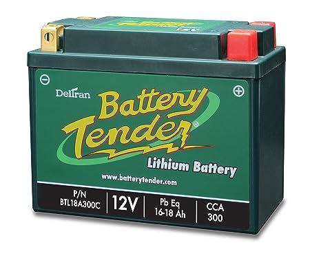 Amazon.com: Batería Tender BTL18A300C Batería de Fosfato de ...