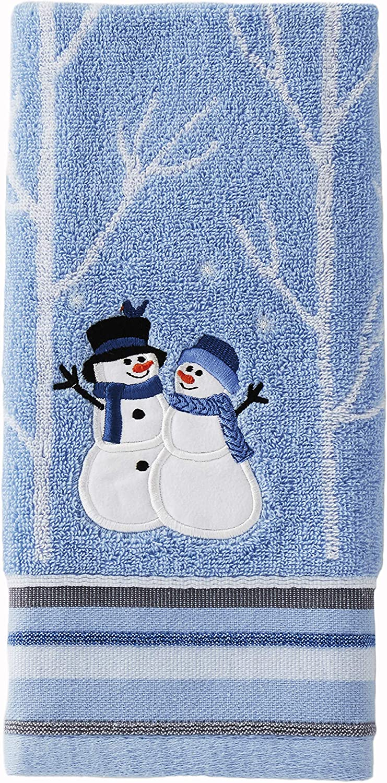 4 Pieces SKL HOME by Saturday Knight Ltd Blue Winter Friends Half Bath Splash Box Set