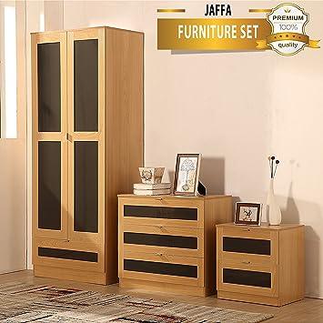 Ossotto - Supreme - Set di mobili per camera da letto in rovere ...