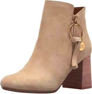 19ff070eb56 Amazon.com | See by Chloe Women's Louise Flat Boot Ankle | Ankle ...