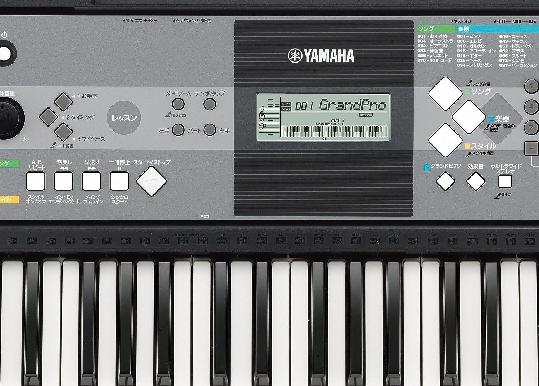Yamaha PSR-E233 Teclado electrónico de 61 Teclas