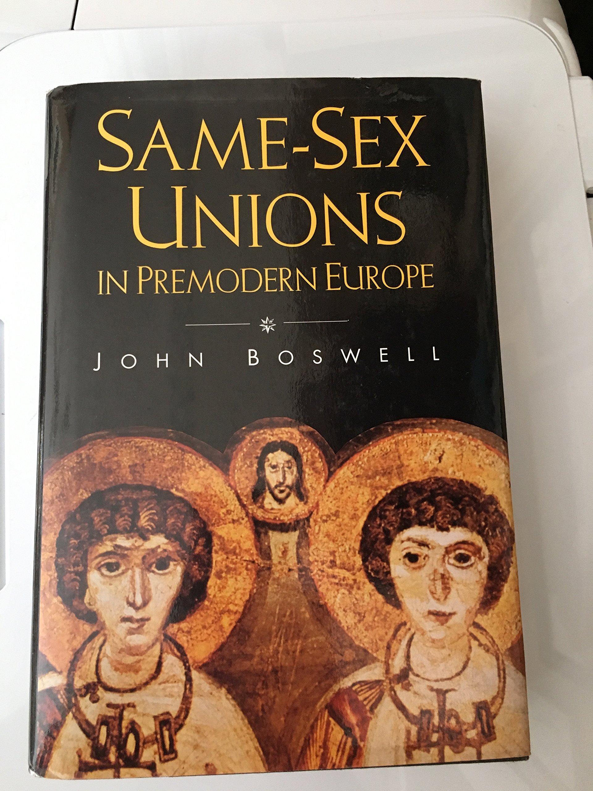 Samesex Unions In Premodern Europe
