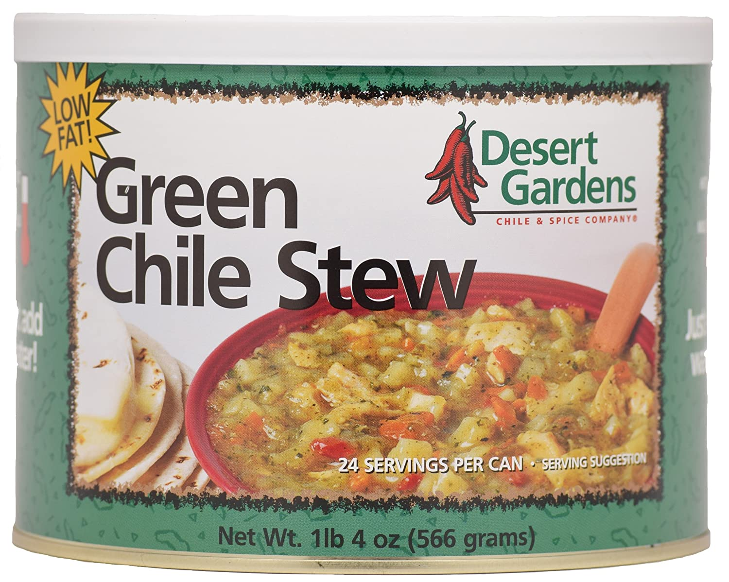 Desert Gardens Green Chile Stew