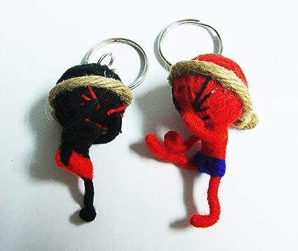 Amazon.com: Voodoo Dolls Muay Thai 2pcs/set Thai Boxeo ...