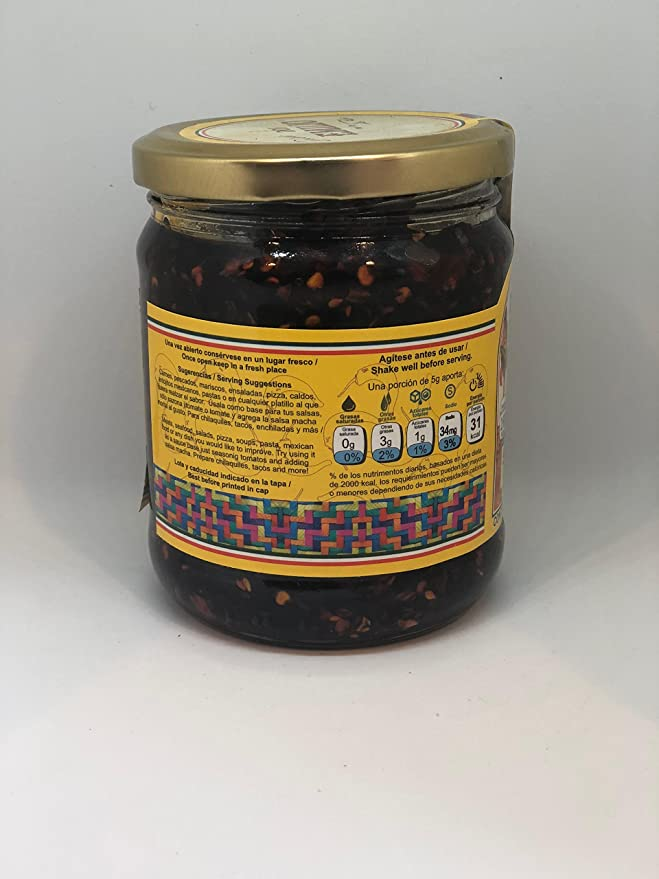 Amazon.com : Salsas Machas Don Emilio 15 oz Chile Morita made in Mexico : Grocery & Gourmet Food