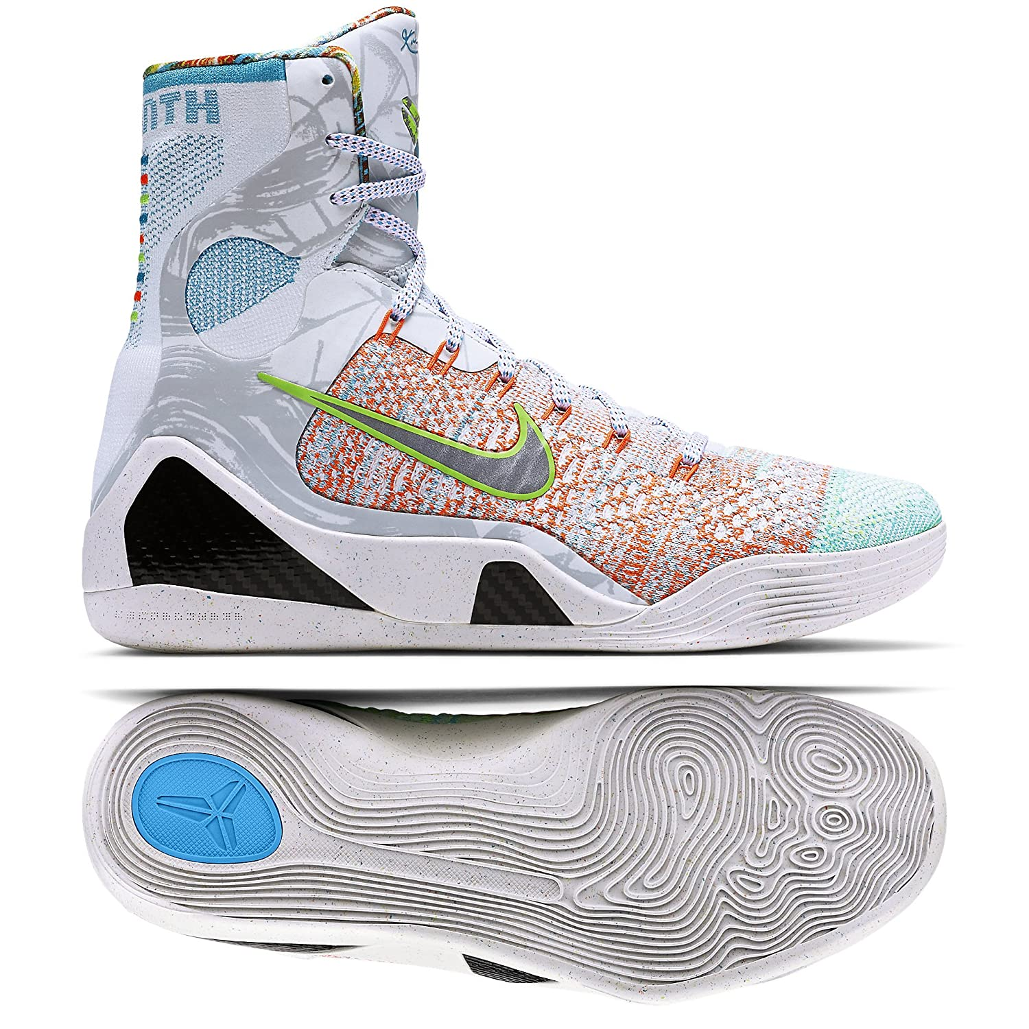 6ee95c0f25cf outlet Nike Men s Kobe 9 Elite What The Kobe Basketball Shoes (678301-904)
