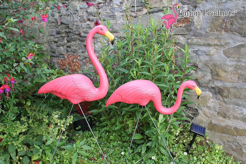 Pair of Genuine Don Featherstone Pink Plastic Garden Yard Lawn ...