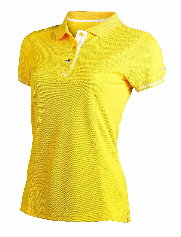 Wilson Staff Authentic - Polo para Mujer, Color Amarillo Amarillo ...