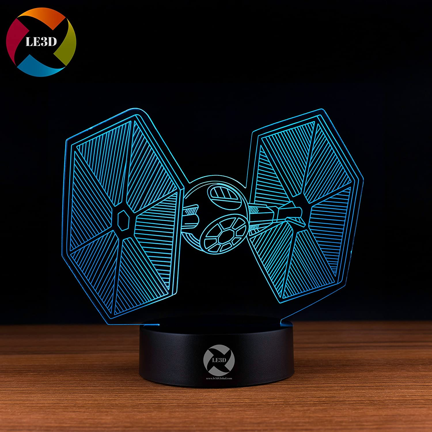 3D ナイトライト B0752WSH8Y 10609 Star Wars Tie Fighter Star Wars Tie Fighter