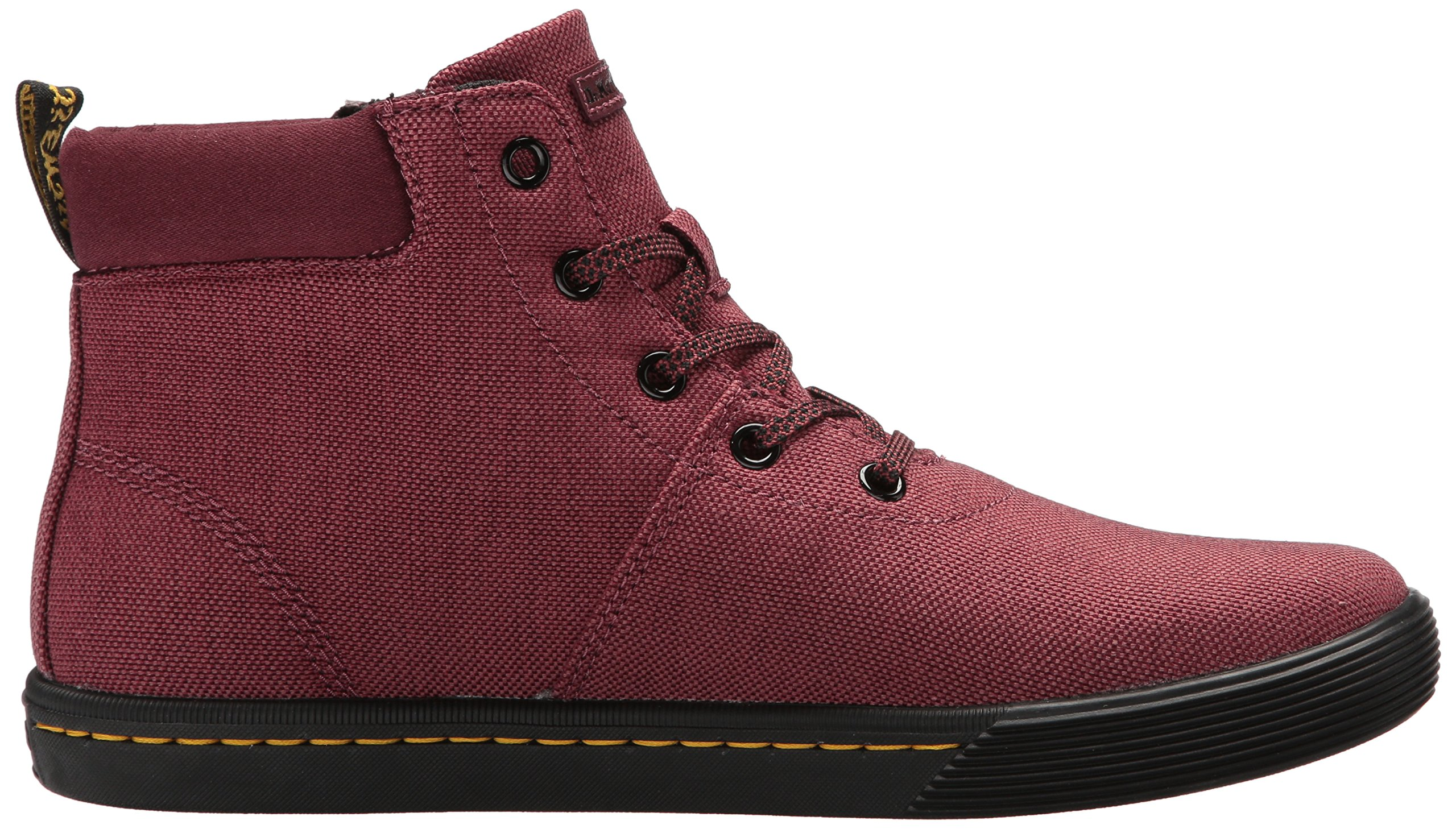 Dr. Martens Women's Maegley Fashion Boot, Cherry Red Woven Textile+Fine Canvas, 5 Medium UK (7 US) by Dr. Martens (Image #7)