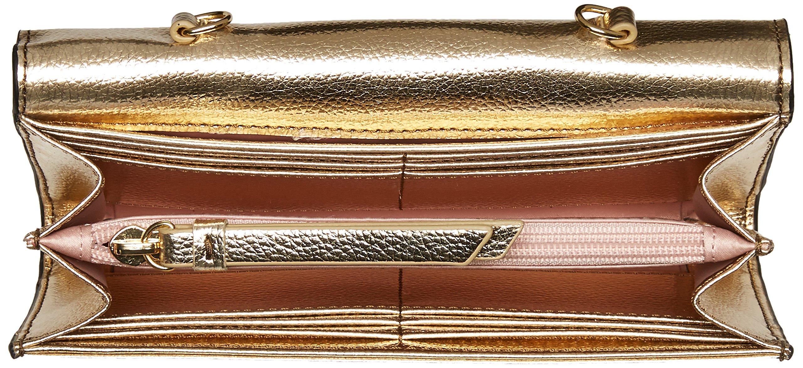 Ivanka Trump Mara Crossbody Wallet-Gold, Metallic Pebble by Ivanka Trump (Image #5)