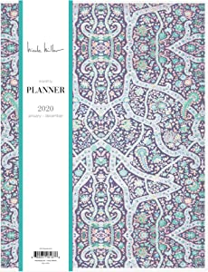 """Nicole Miller for Blue Sky 2020 Monthly Planner, Flexible Cover, 8.5"""" x 11"""", Bramble"""
