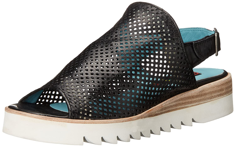 Everybody Women's Valo Wedge Sandal B019OOMG3G 39.5 M EU / 9.5 B(M) US|Black