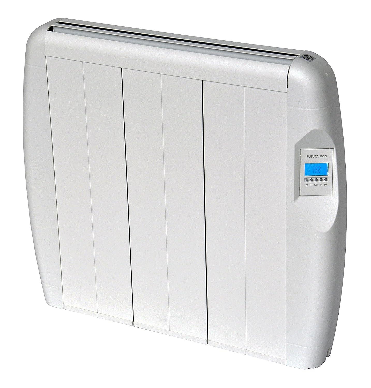 Slimline electric heaters wall mounted - Futura Eco 900w Slimline Aluminium Electric Radiator Energy Efficient Wall Mounted Electric Heater With 24 7 Timer Advanced Chrono Automatic Accurate