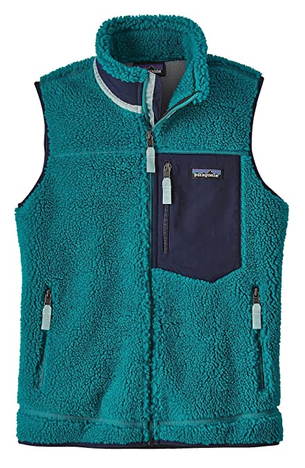 f7454c60 Patagonia Women's Classic Retro-X Fleece Vest (M, Elwha Blue)