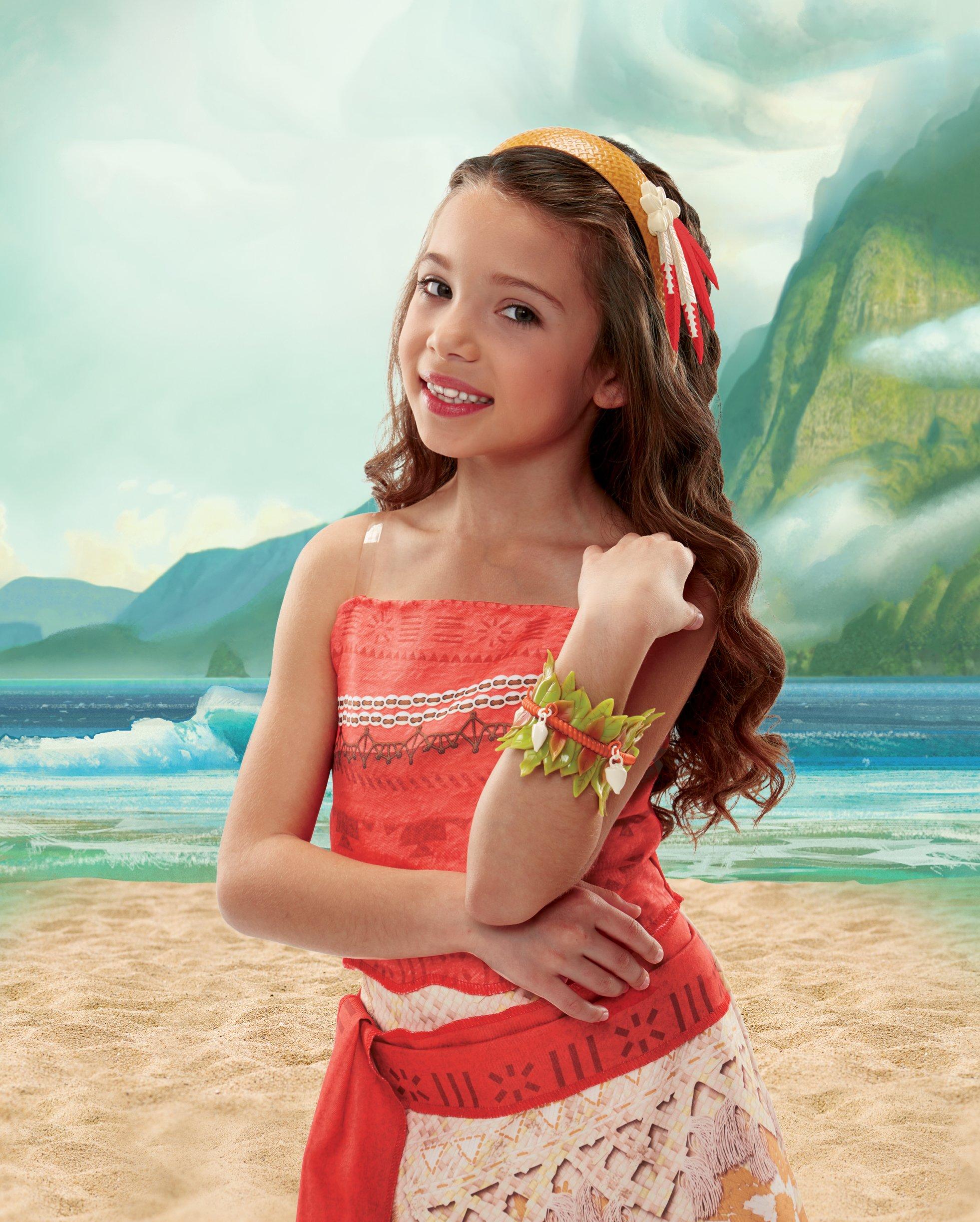 Disney – Vaiana – Serre Tête et Bracelet – Accessoire de Déguisement product image