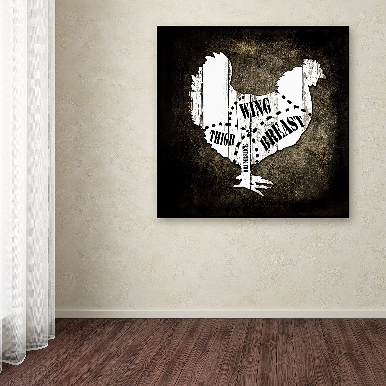 18x18-Inch Canvas Wall Art Butcher Shop III by LightBoxJournal
