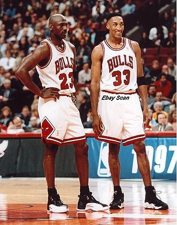 Michael Jordan Scottie Pippen Poster Foto Chicago Bulls Nba Poster Fotos 16 X 20