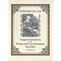 Enigma Variations and Pomp and Circumstance Marches in Full Score (Dover Music Scores) book cover
