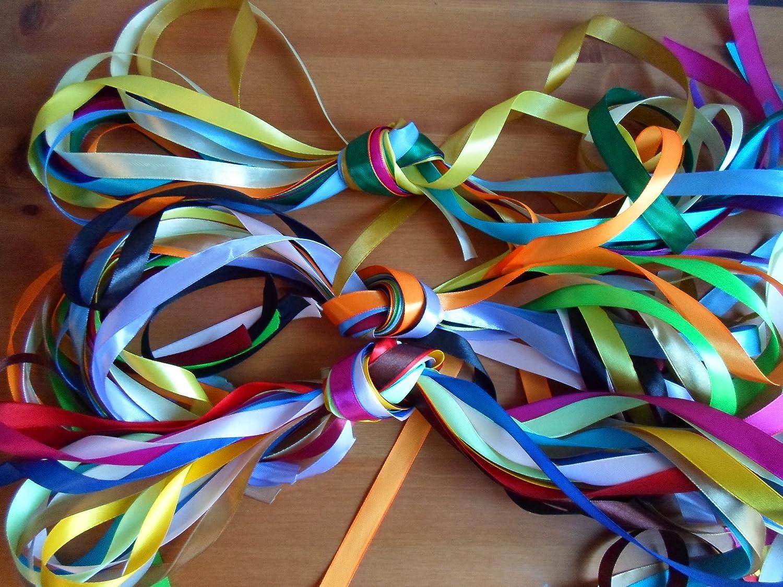 All 1m long. Ribbon Bundle Various colours Random widths