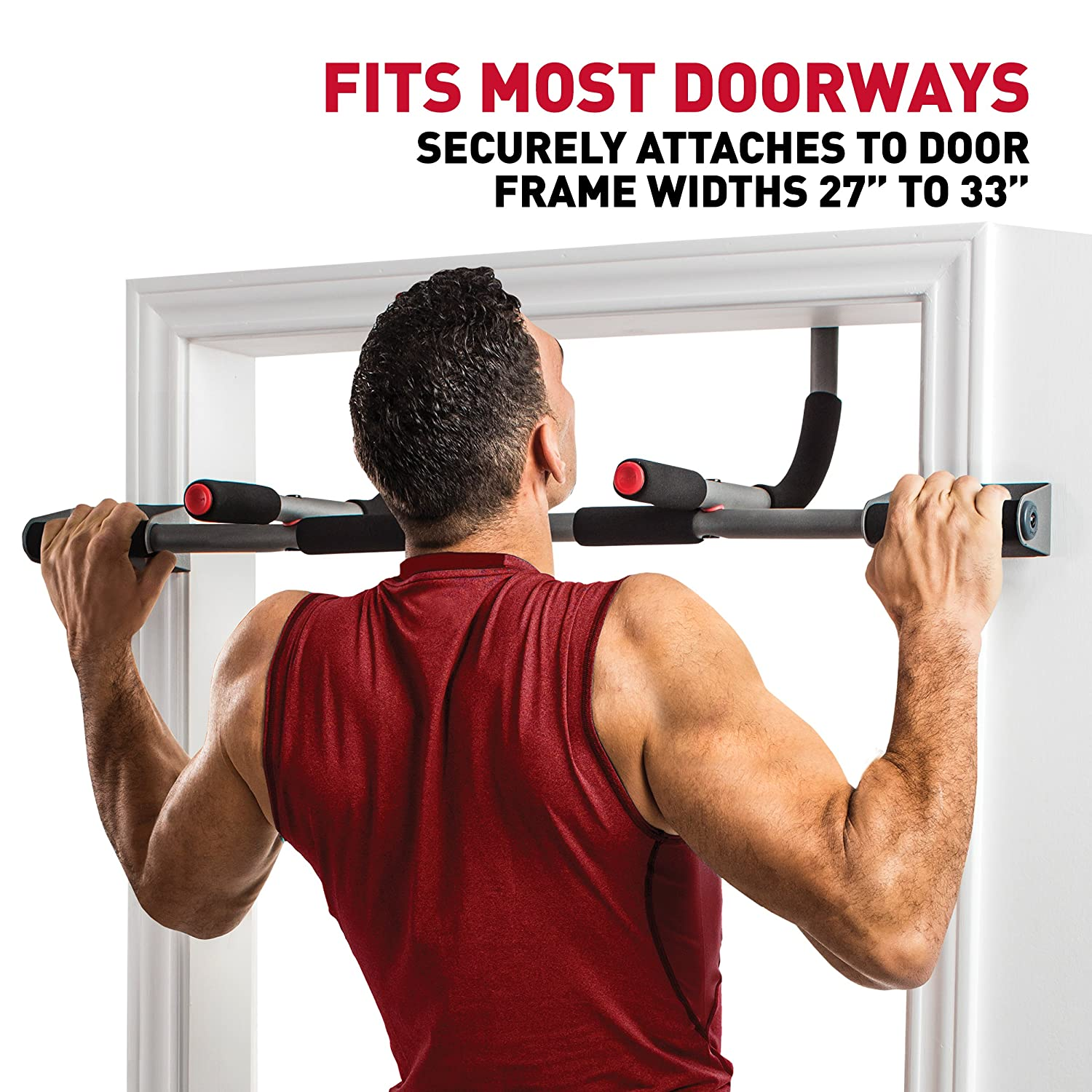 Perfect Fitness Multi-Gym Doorway Pull Up Bar and Portable Gym System Pro