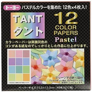 Toyo Tanto 12 pastel color 15  15cm JP