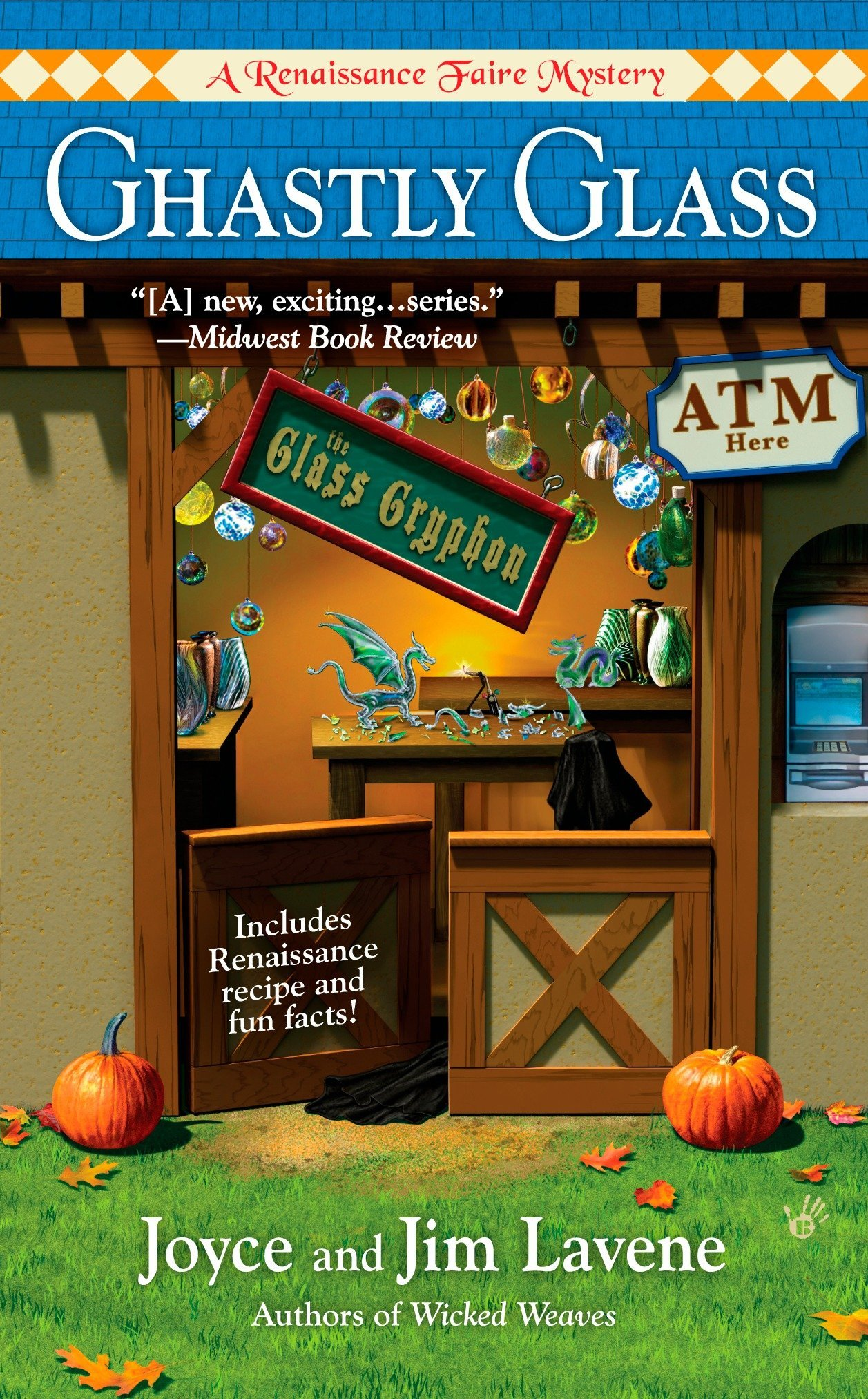 Download Ghastly Glass (Renaissance Faire Mystery) PDF