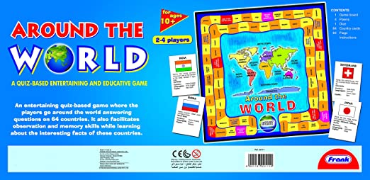 Buy Frank Around The World Online At Low Prices In India Amazonin - Countries of the world game